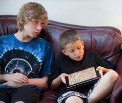Alex and Gavin