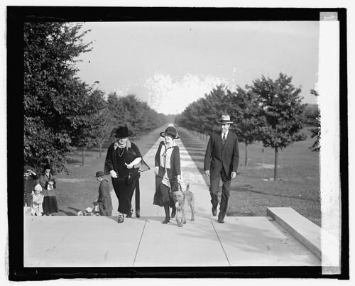 Mrs. Coolidge, Mrs. George G. Seibold & James Haley, 10/13/24