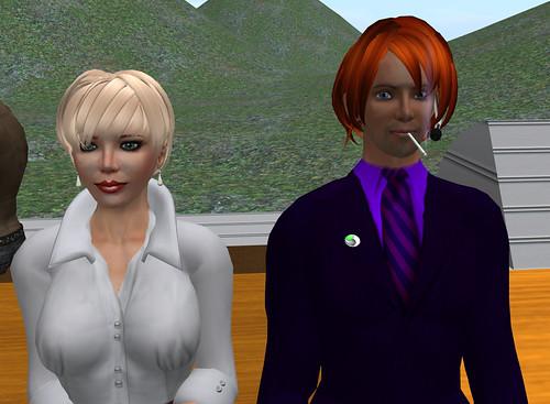 Saffi Widdershins & Mal Burns