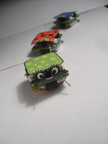 Cute formica robots