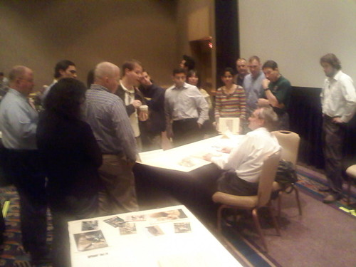 Tufte holding office hours at Atlanta seminar