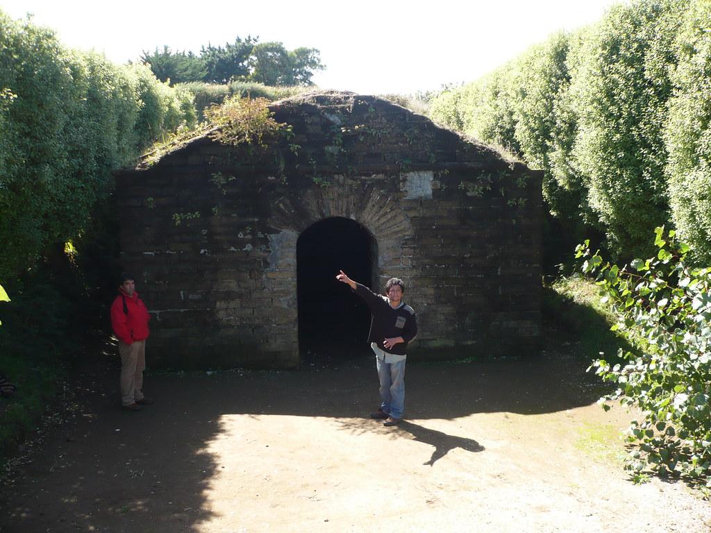 el polvorín de los Españoles en Ancud
