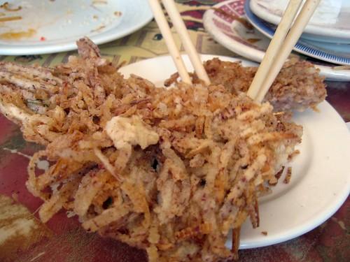 Fried Taro Cake
