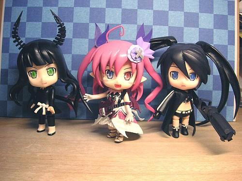 Custom Nendoroid DM, Chua Churam, and BRS