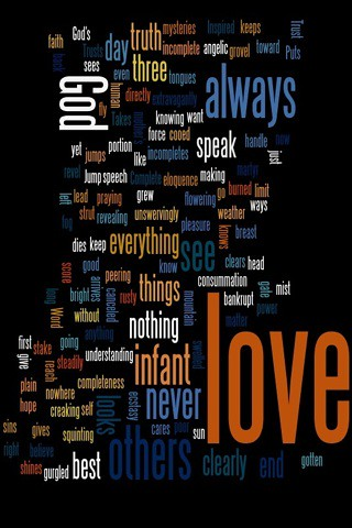 wordle #1 for cell phone by Headphonaught