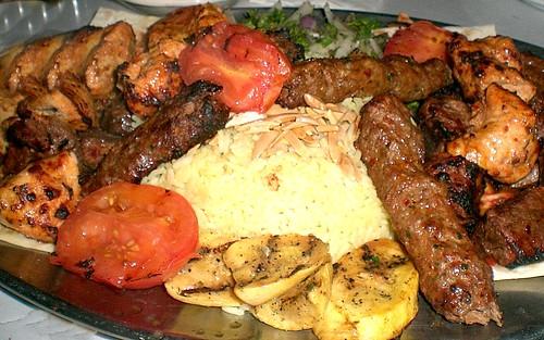 Kafta, Beef and Chicken Kebobs