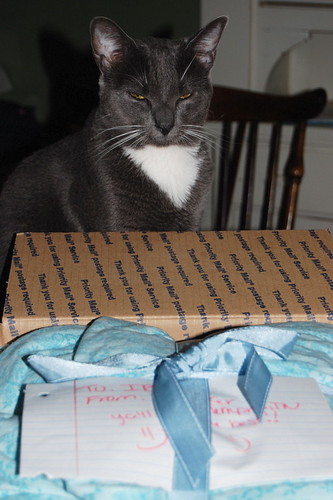 ~package inspected and approved by Sam~