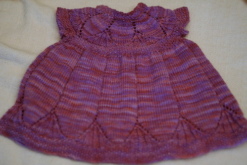 Clara Dress in Dream in Color Smooshy, Wisterious