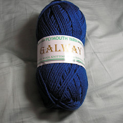 Plymouth Yarn Galway blue
