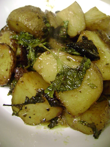 Chicken Roasted Potatoes