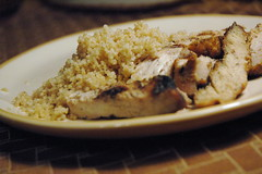 Grilled Chicken & Whole Wheat Couscous
