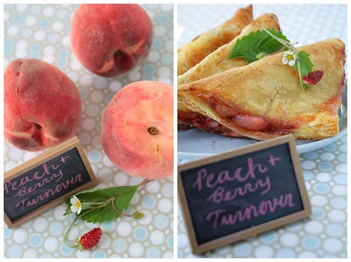 Peach Berry Turnoverrs