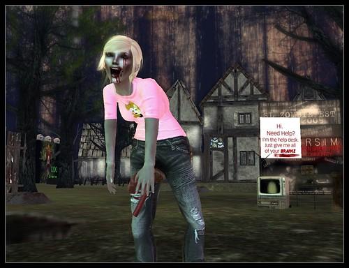 Beautiful Zombie Bella