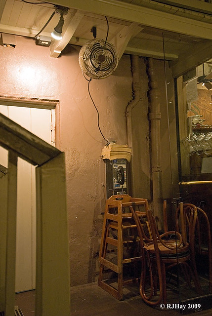 Some restaurants have more character than others - French Quarter - New Orleans