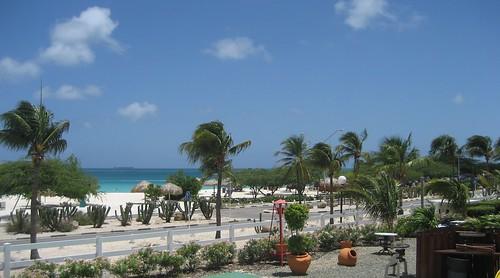 Eagle Beach from La Cabana