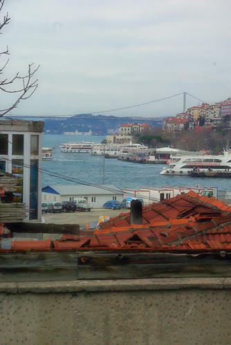Üsküdar , Bosphorus and İstanbul