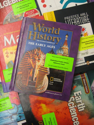 Middle School Textbooks by herzogbr