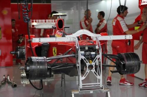 Ferrari Paddock Formula 1 Suzuka 2009