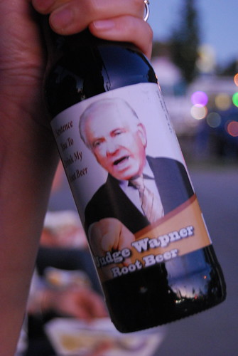 Judge Wapner rootbeer