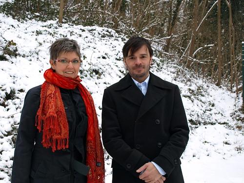 met Notaris Vlerick in de sneeuw!