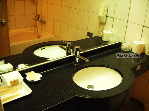 劍橋大飯店台南館商務單人房衛浴設備
