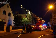 Feuer in Dachstuhl Kostheim 22.03.09