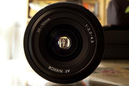 AF Zoom Nikkor 35-70mm f/3.3~4.5S MACRO MK I (III)