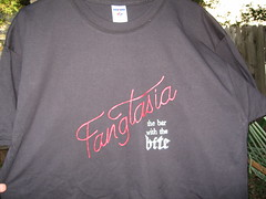 Fangtasia t-shirt for my sister