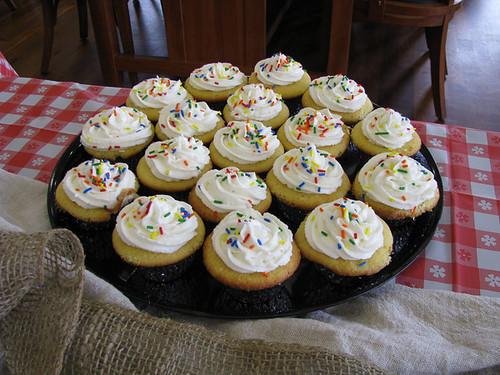 Vanilla Cupcakes at the ASSET Awards