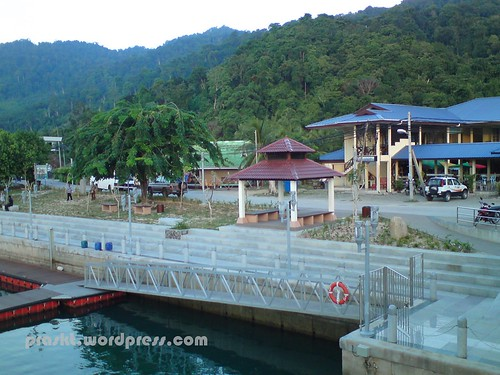 Tioman Airport just next to the terminal