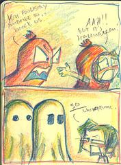 Halloween Moleskine Doodles