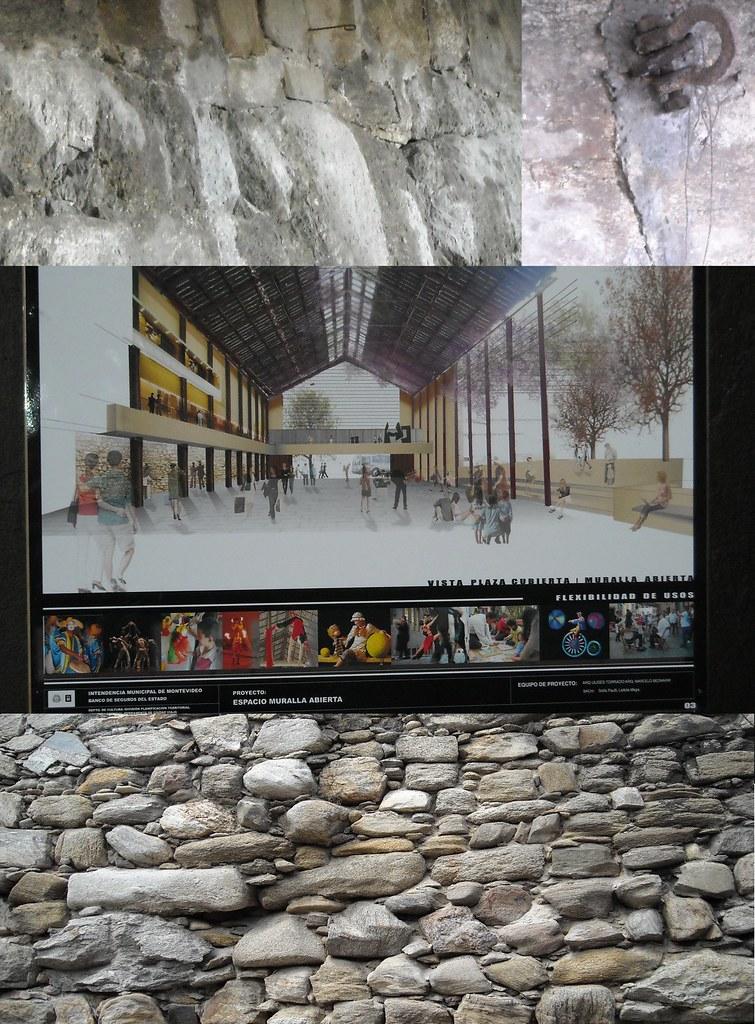 La antigua Muralla Colonial, o el pedazo que queda, será parte de un paseo cultural y turístico