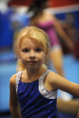 My little gymnast