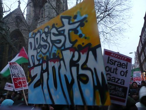 RESIST ZIONISM!
