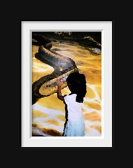 Girl and Serpent