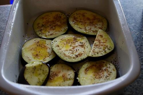 Eggplant layer