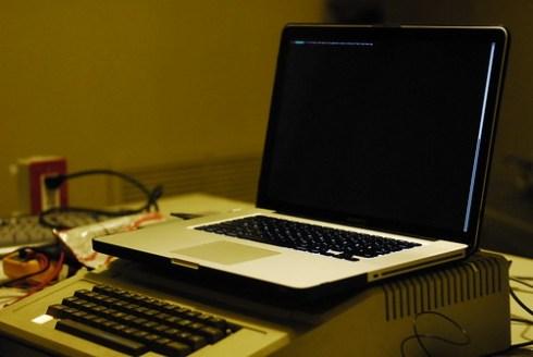 Apple II Plus as a USB keyboard