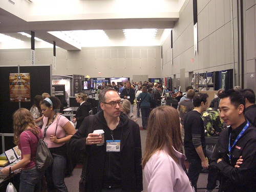 Exhibit Hall at SXSW 2009