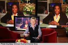 Oprah Winfrey invites Ellen DeGeneres to share...