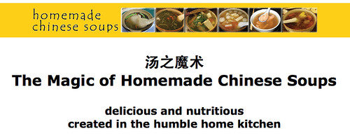 CC-sg Adopter: The magic of homemade chinese soups