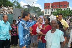 Lawatan kerja ke kawasan setinggan Kg Ceti, Jalan kelang Lama - Raja Nong Chik