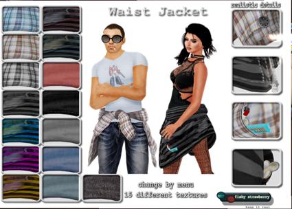 Fishy Strawberry - 50L Week 8 - Waist Jacket