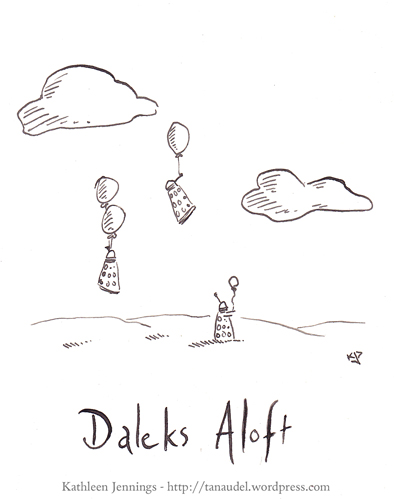 Daleks Aloft