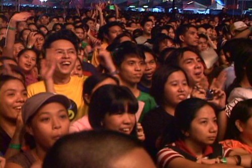 Me at Eraserheads Reunion Concert DVD - 1