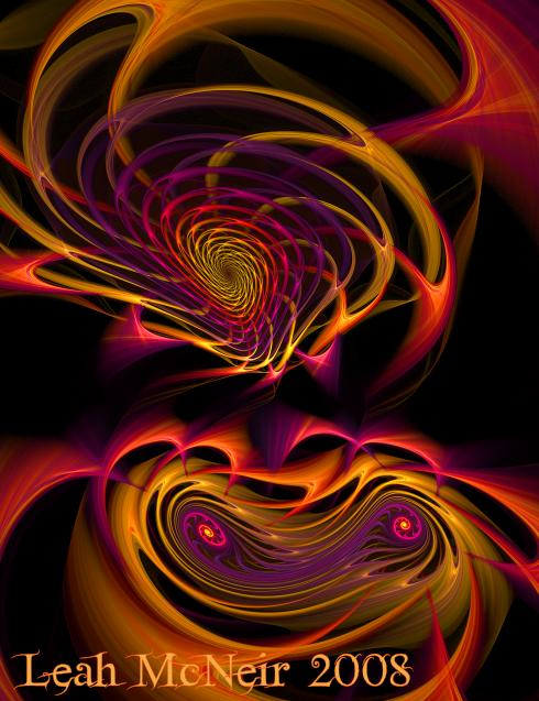 Fractal Art: Aries Woman (showdetail)