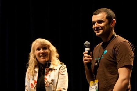 Kathy Sierra and Gary Vee - SXSWi 2009