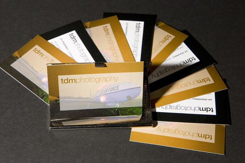 1st Set of The New Business Cards