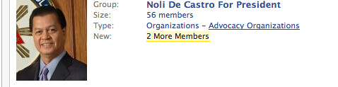 Noli de Castro in FB
