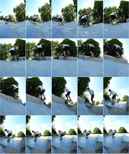 Poulet with the wallie frontside boardslide