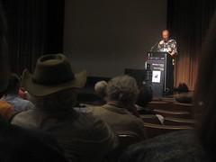 Jim giving a talk